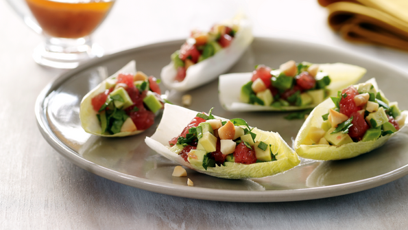 Endive Avocado and Grapefruit Salad